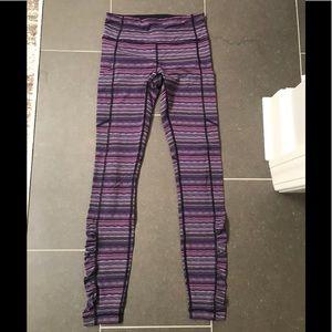 Lululemon striped Leggings